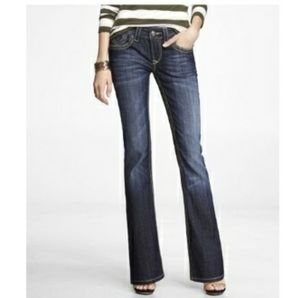 Rerock For Express Thick Stitch Boot Cut Jeans 6R